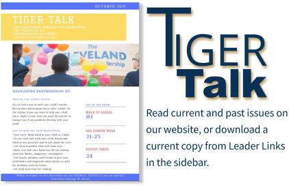 Tiger Talk Newsletter