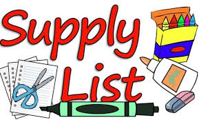 In-school Student Supply List