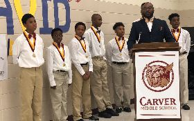 Carver Mentoring Program Making Headlines