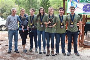 Viking Envirothon Teams Sweep in State Competition