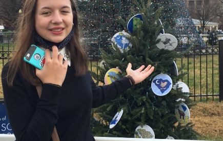 D7 Students Create Ornaments for National Christmas Tree Display