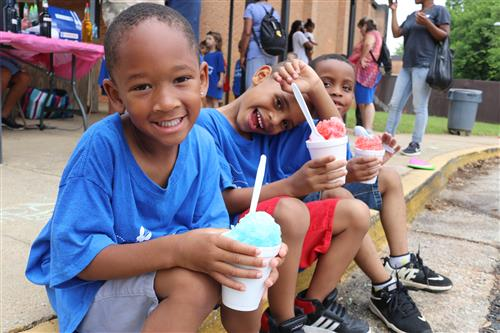 children with icees