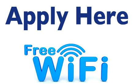 Application Reopened for Free Need-Based Wi-Fi