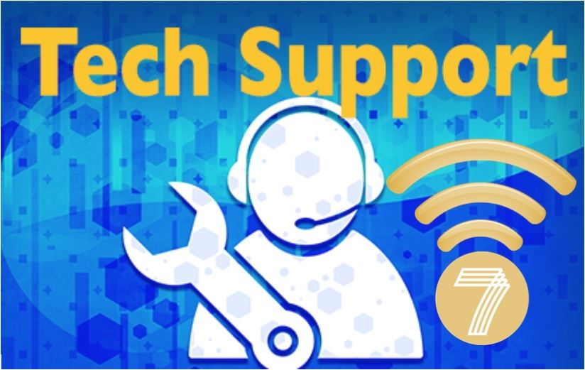 Wi-Fi and Tech Support