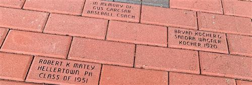 engraved bricks