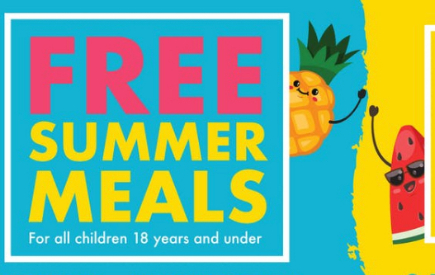 Free Meals all Summer Long!