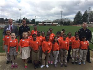3rd grade students visit Furman University